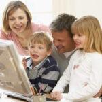 Internet entre padres e hijos